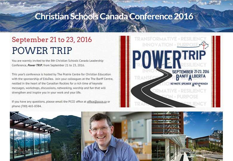 Christian Schools Canada Conference Banff 2016