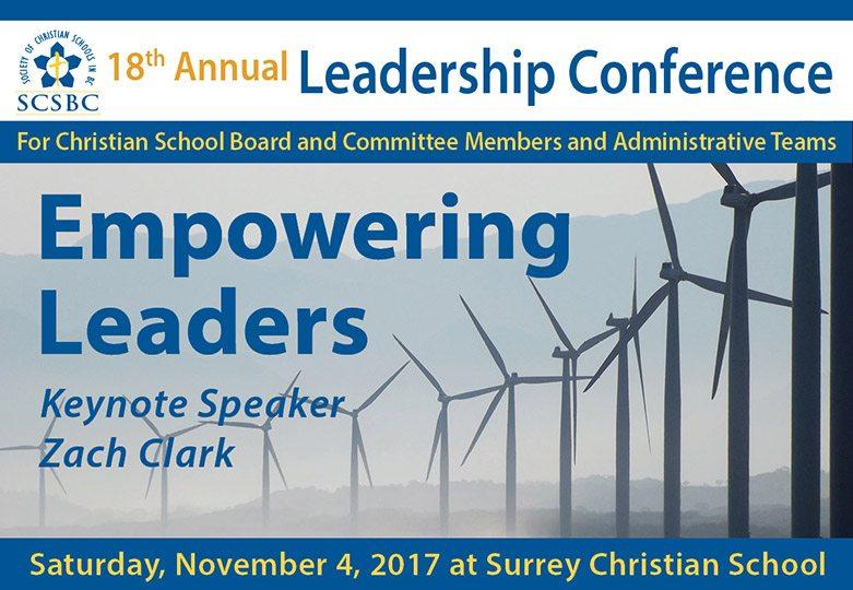 SCSBC Leadership Conference 2017